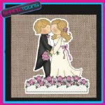 WEDDING IDEA BRIDE JUTE SHOPPING LADIES GIFT BAG 003